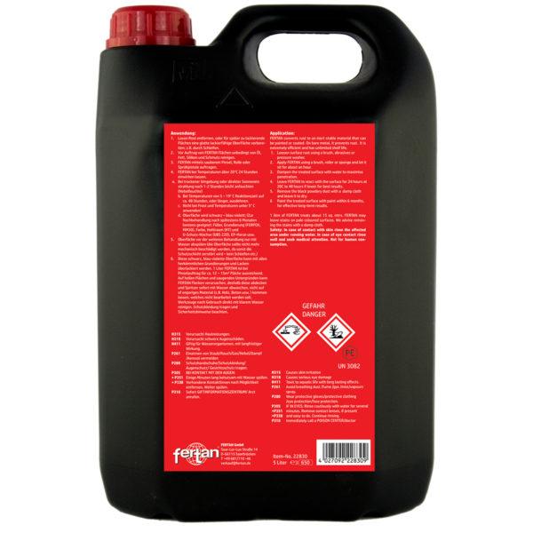 antirugina Convertor Rugina - Fertan Rust Converter - 5 l