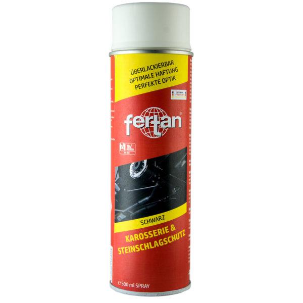 Protectie impotriva loviturilor de piatra - FERTAN - 500 ml spray - negru mat